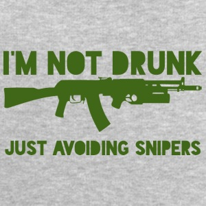 Military / Soldiers: I'm not drunk. Just avoiding - Men's Sweatshirt by Stanley & Stella