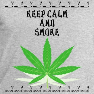 Keep calm and smoke - Männer Sweatshirt von Stanley & Stella
