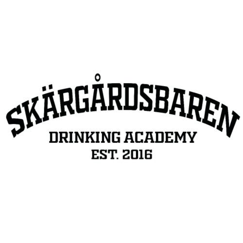 SB drinking academy 2 - Miesten luomucollegepaita