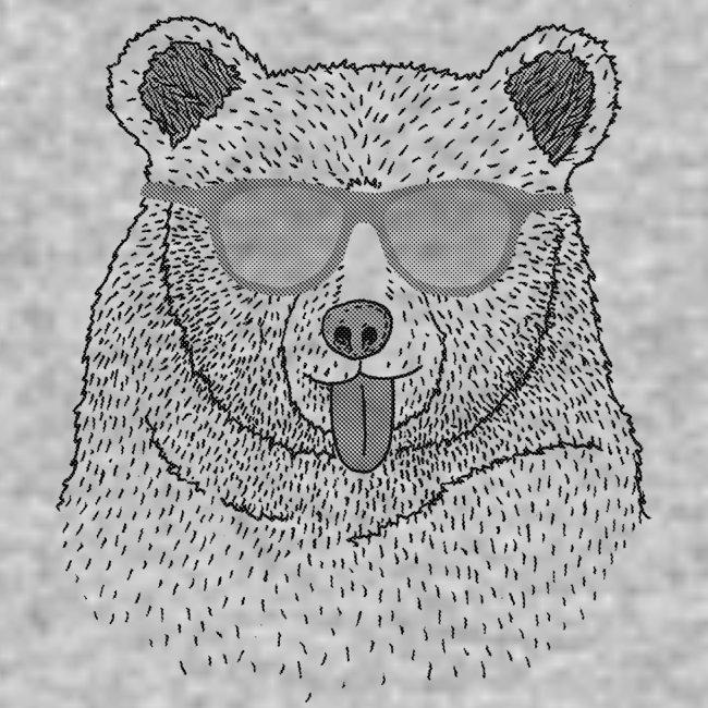 """""""BABO blue"""" Bär (grau)"""
