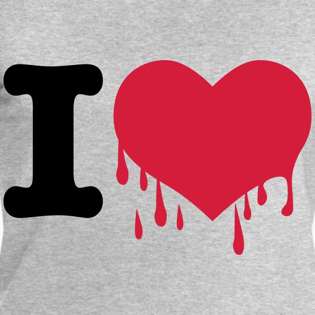 I love - Herzblut Herz 2c