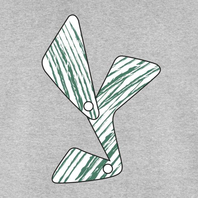 lettera Y verde