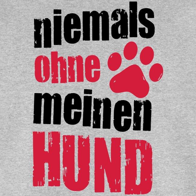 Vorschau: niemals ohne meinen hund - Männer Bio-Sweatshirt von Stanley & Stella