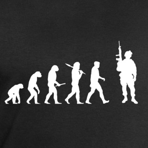 Evolution Soldier! Soldier! Warrior! Warrior! army - Men's Sweatshirt by Stanley & Stella