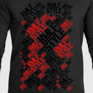 KMLF STYLE LONG graphics red 2 - Men's Sweatshirt by Stanley & Stella