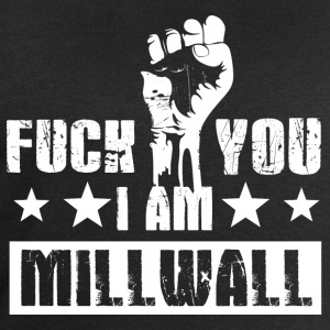 Fuck you! Jeg er Millwall! Millwall! Anti Terror! - Sweatshirts for menn fra Stanley & Stella