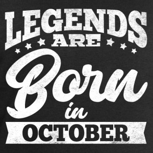 Legends Are Born In October - Men's Sweatshirt by Stanley & Stella
