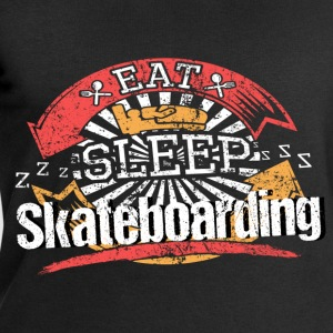 Eat Sleep Skateboarden - Men's Sweatshirt by Stanley & Stella