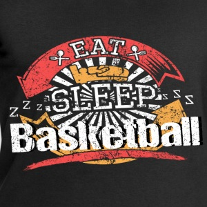 Food Sleeping Basketball - Men's Sweatshirt by Stanley & Stella