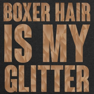 Dog / Boxer: Boxer Hair is my Glitter - Men's Sweatshirt by Stanley & Stella