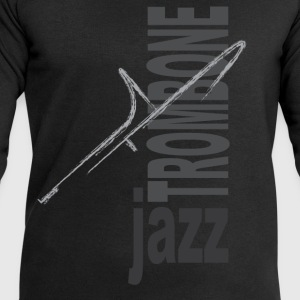 Jazz Trombone - Men's Sweatshirt by Stanley & Stella