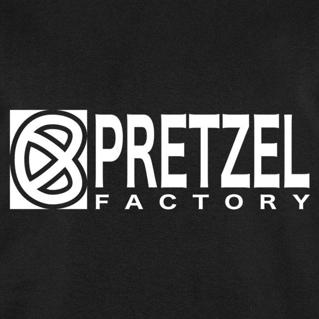 Pretzel Factory Logo Blanc