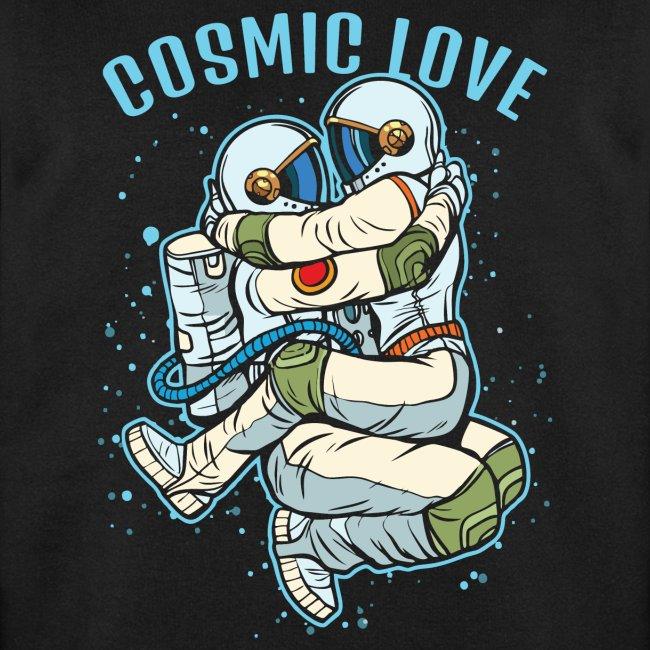 kosmische Liebe Astronautenraum