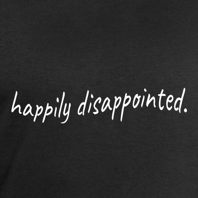 happily disappointed white