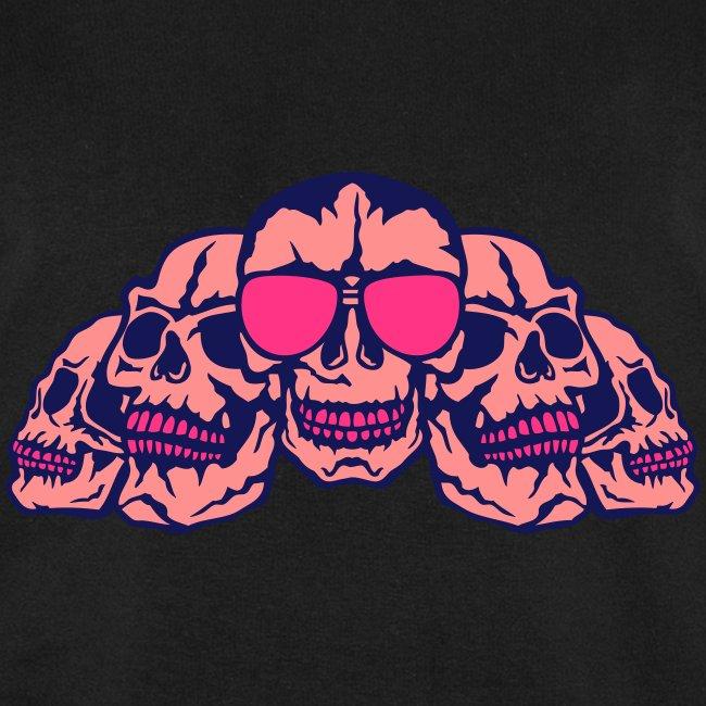 tete mort face profil skull head dead