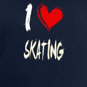 I love skating - Men's Sweatshirt by Stanley & Stella