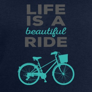 Bicycle: Life is a beautiful ride - Men's Sweatshirt by Stanley & Stella