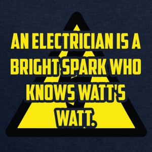 Electrician: An Electrician is a bright spark who - Men's Sweatshirt by Stanley & Stella