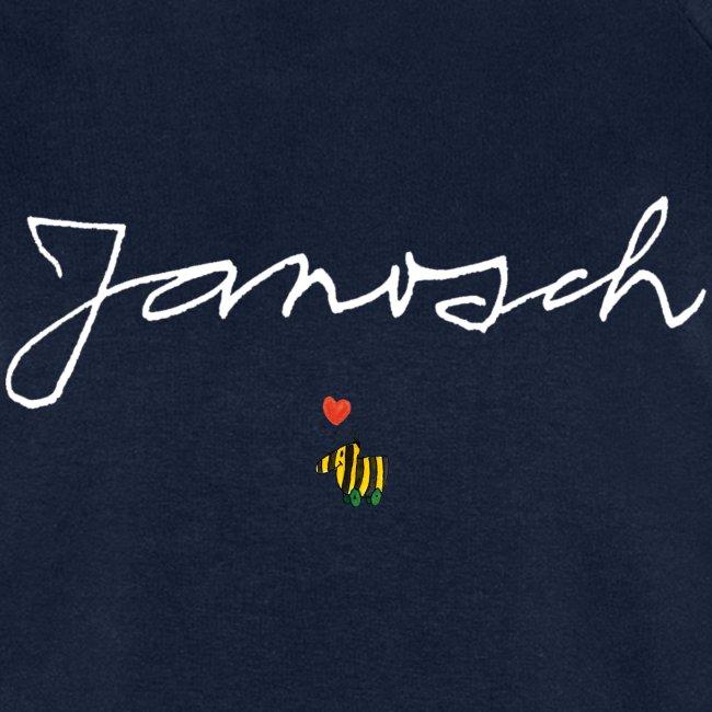 Janosch Schriftzug mit Tigerente