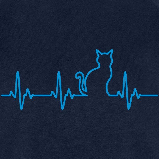 Vorschau: Ein Herz für Katzen - Männer Bio-Sweatshirt von Stanley & Stella