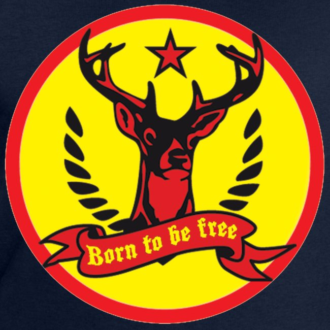 Hirsch born to be free buttons
