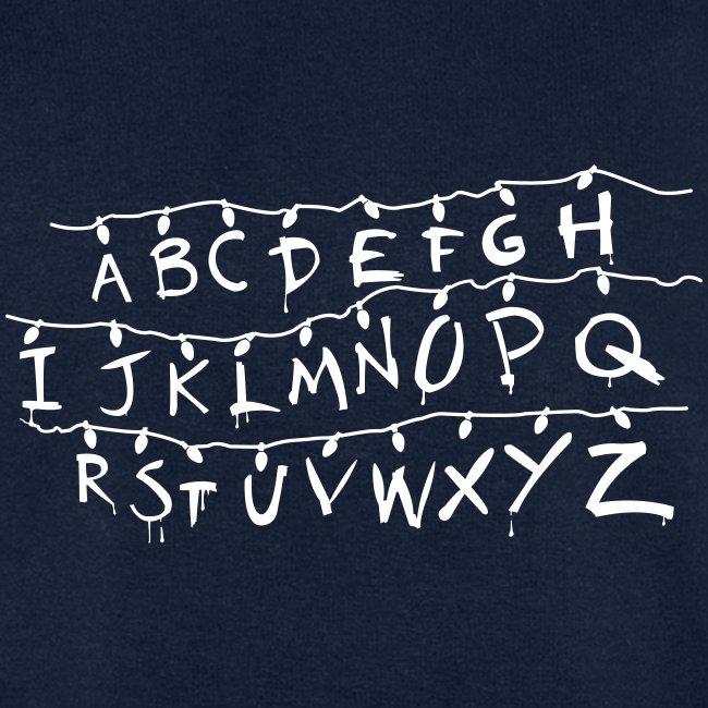 Stranger Things Alphabet T-Shirts