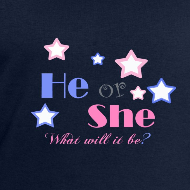 He or she baby-shower