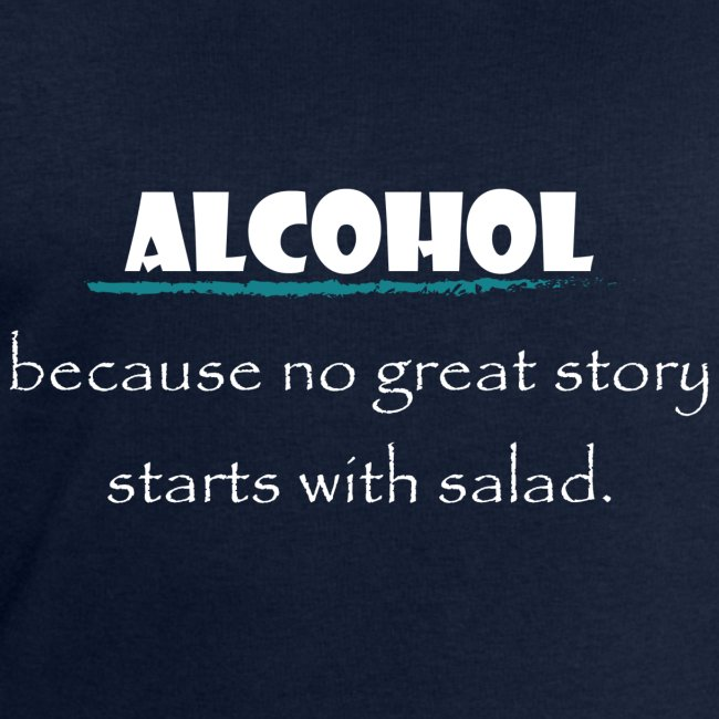 alcohol salad