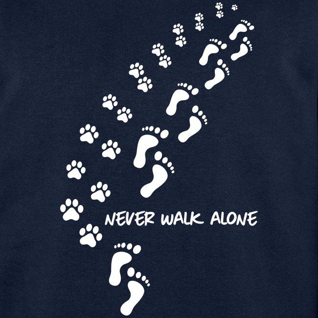 Vorschau: never walk alone dog - Männer Bio-Sweatshirt von Stanley & Stella