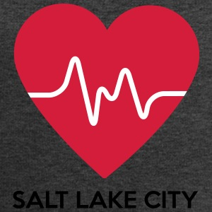 Heart Salt Lake City - Men's Sweatshirt by Stanley & Stella