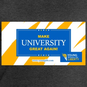 MUGA: Maak University Great Again - Mannen sweatshirt van Stanley & Stella