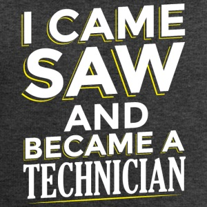 I CAME SAW AND BECAME A TECHNICIAN - Men's Sweatshirt by Stanley & Stella