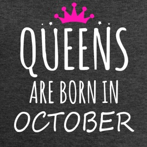 Queens are born in October - Men's Sweatshirt by Stanley & Stella
