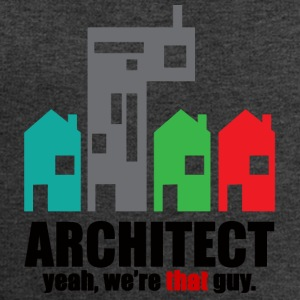 Architect / Architectuur: Architect. Ja, we - Mannen sweatshirt van Stanley & Stella
