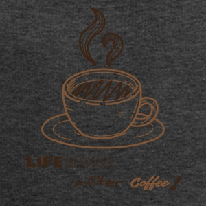 life begins after coffee - Sweat-shirt Homme Stanley & Stella
