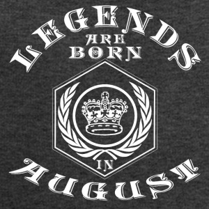 Legends august født bursdagsgave fødsel - Sweatshirts for menn fra Stanley & Stella