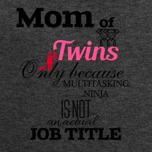 Mom of Twins because multitasking ninja is not job - Men's Sweatshirt by Stanley & Stella