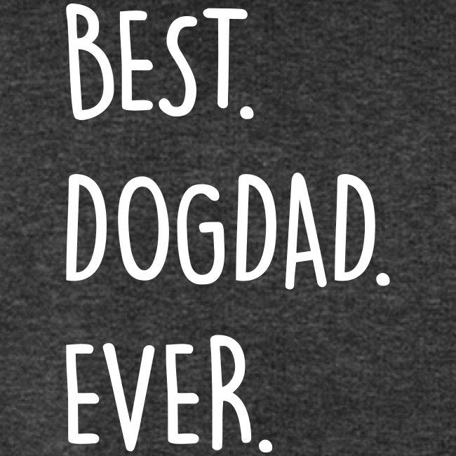 Vorschau: best dogdad ever - Männer Bio-Sweatshirt von Stanley & Stella