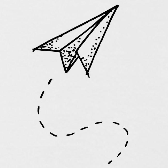 tiny paper plane