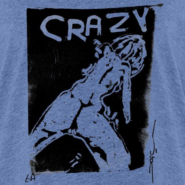 Crazy girl noir