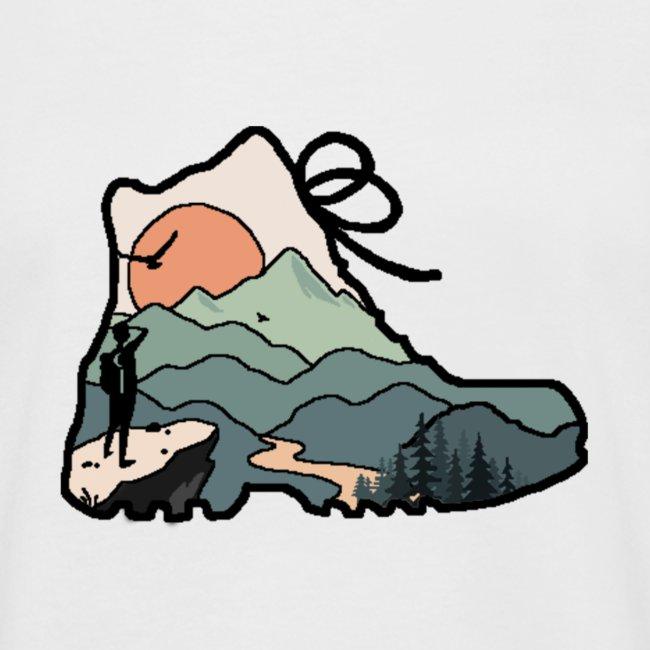 The mountain Hiker