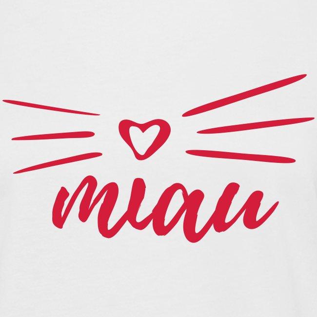 Vorschau: miau - Frauen Oversize T-Shirt