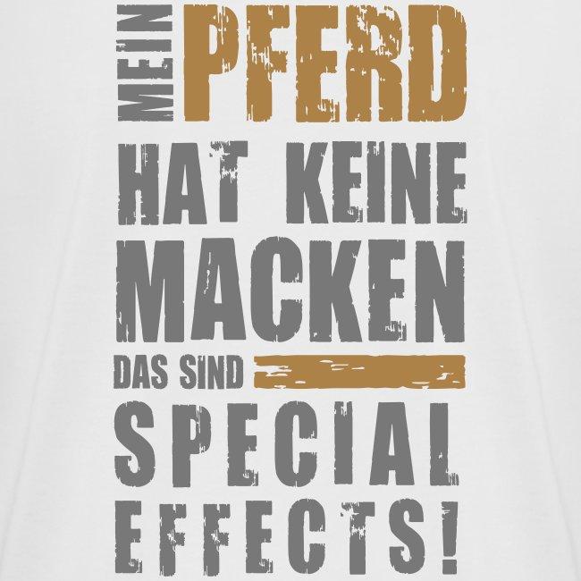 Vorschau: Keine Macken Pferd - Frauen Oversize T-Shirt