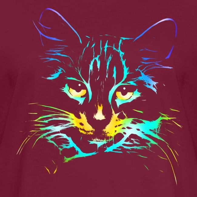 Vorschau: color kitty - Frauen Oversize T-Shirt