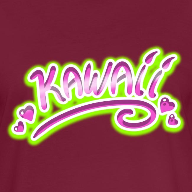 Kawaii Rose et Vert