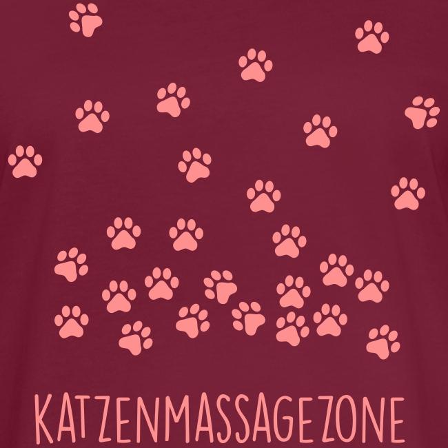Vorschau: Katzen Massage Zone - Frauen Oversize T-Shirt
