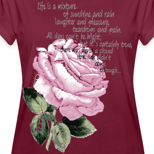 796300_143197987_9Rose-sp - Frauen Oversize T-Shirt