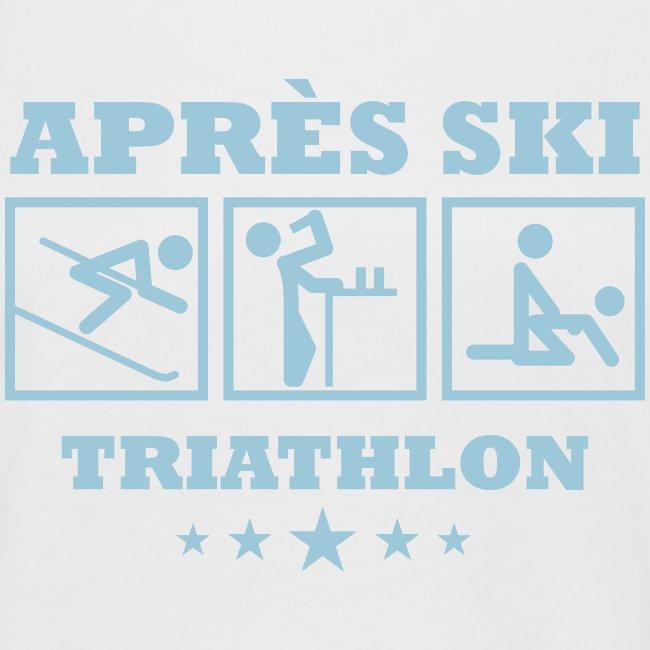 Apres Ski Triathlon | Apreski-Shirts gestalten