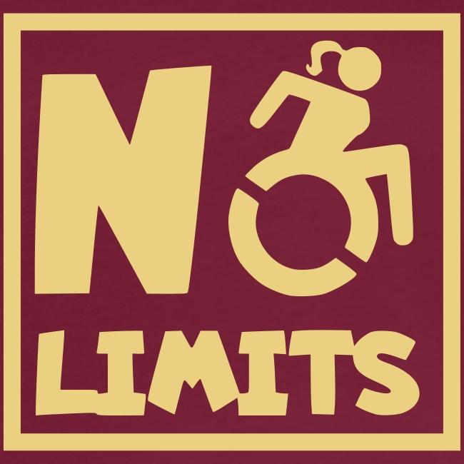 Geen grenzen voor deze dame in rolstoel