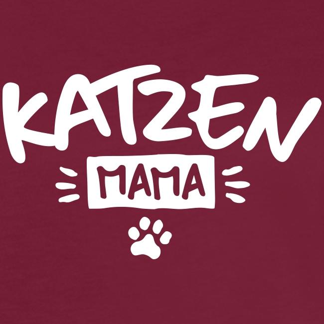 Vorschau: Katzen Mama - Frauen Oversize T-Shirt